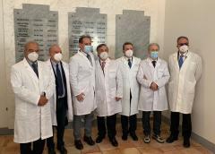 Sacrario dei camici bianchi, l'OMCeO di Caltanissetta ricorda i medici Michele Abbate e Calogero Giabbarrasi