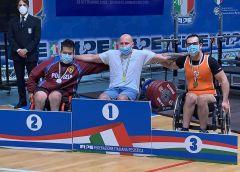 Il nisseno Cristiano Campione è medaglia d'argento ai campionati Italiani Assoluti di para powerlifting di Lignano Sabbiadoro