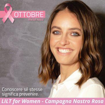 """Campagna Nazionale Nastro Rosa 2021. Visite gratuite senologiche della LILT per tutte le donne che ne faranno richiesta. """"I Comuni si colorano di Rosa"""""""