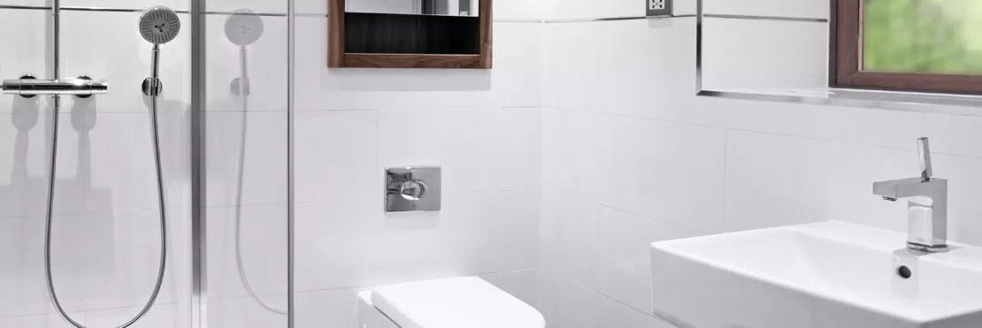 White Bathroom Tiles  300x600mm Rectified Gloss White