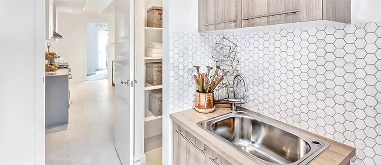 Kitchen Backsplash Tiles  Metro Range Of White Gloss