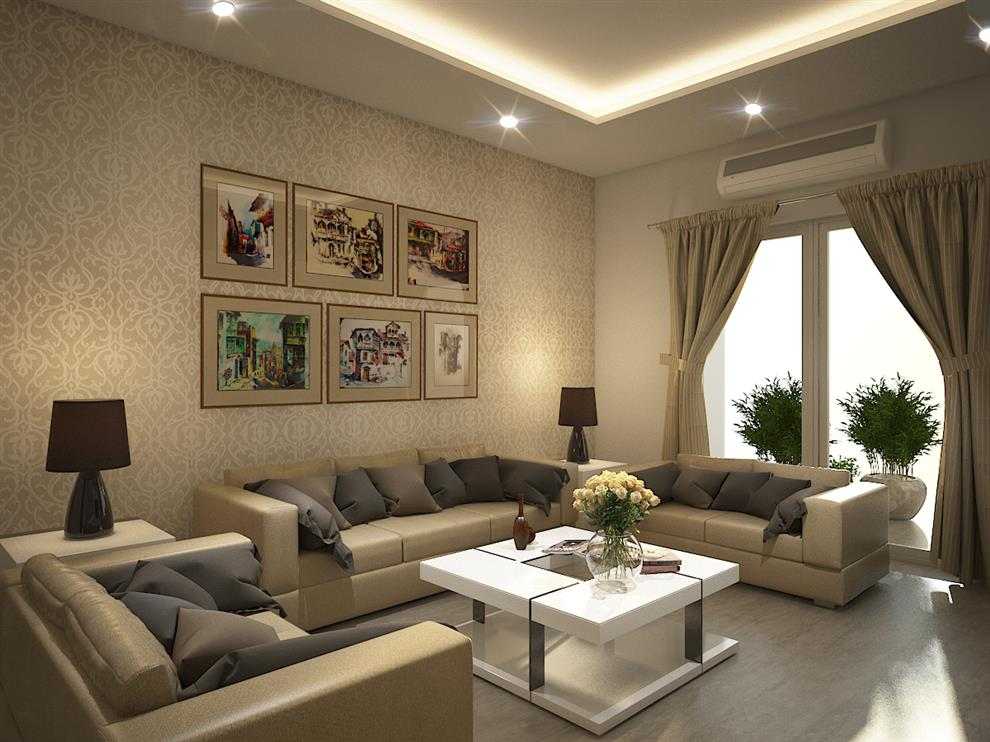 Rahul Mehta Home interiors furniture  Living Room