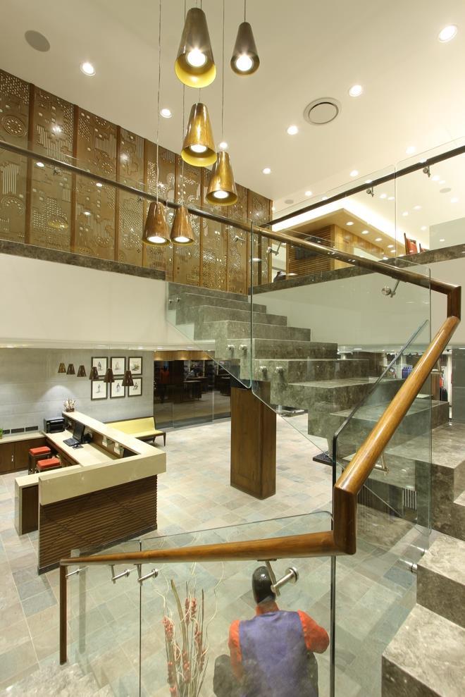 Dipen Gada Pandav Ethnic Studio  Staircase  Vadodara