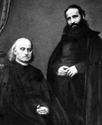 2015_Alphonse_Ratisbonne_his_brother_Theodore The Conversion of Alphonse Ratisbonne