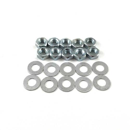 Porsche 356 Sump Plate Nuts and Washers 900.076.010.02 / 90007601002 / 900.028.008.01 / 90002800801