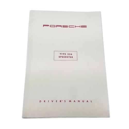 Porsche 356 Speedster Driver's Manual