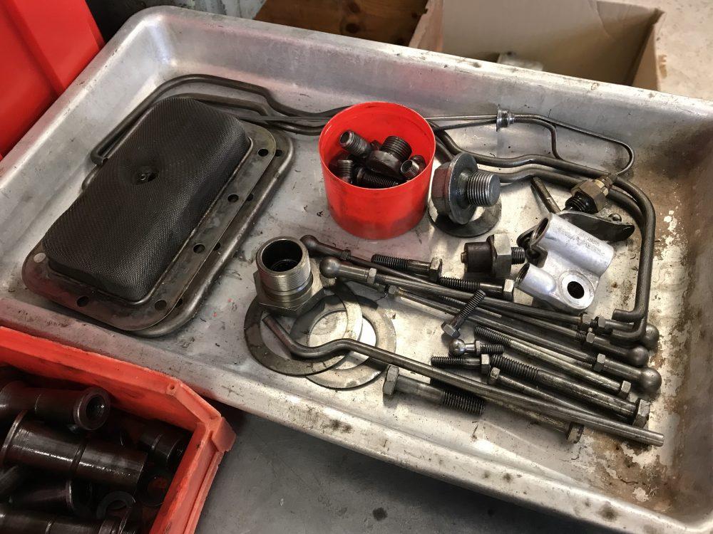 Porsche 356 Wire Brushed Parts