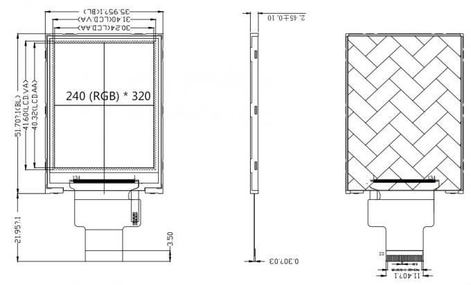 240 * 320 Dots Arduino TFT Display Small Screen Module