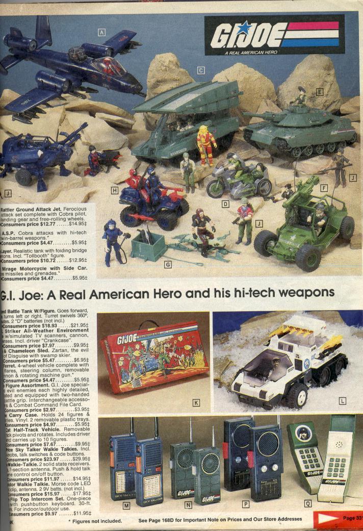 Flashback 1985 Toy Catalogs Tfu Info Magazine Issue 01