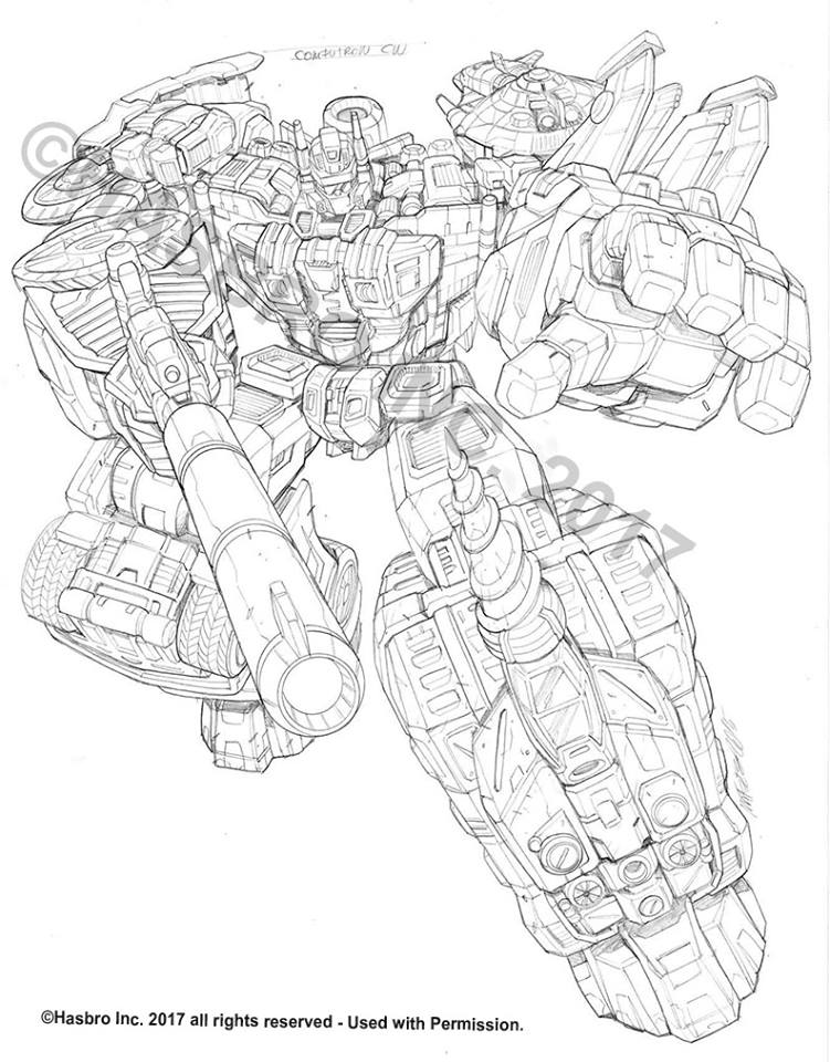 Combiner Wars Sketches By Marcelo Matere: Computron