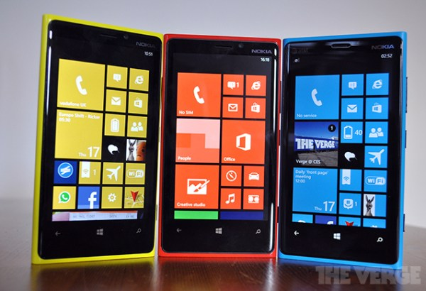 Nokia Lumia com o Windows Phone 8