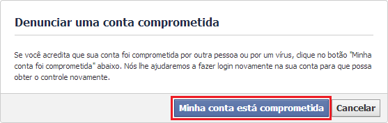 Restaurar conta do Facebook hackeada