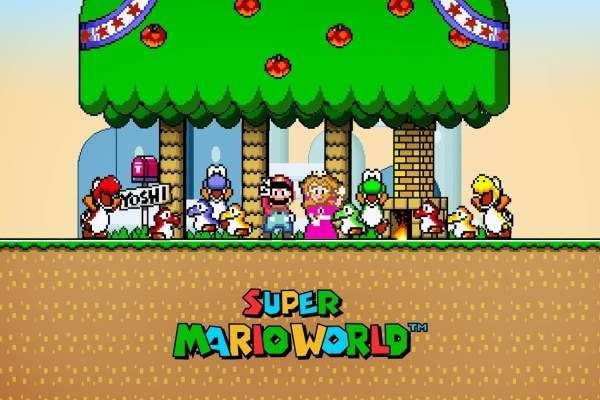 Nostalgia Mario World 91