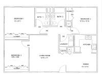 Floor Plan 3 Bedroom | Joy Studio Design Gallery - Best Design