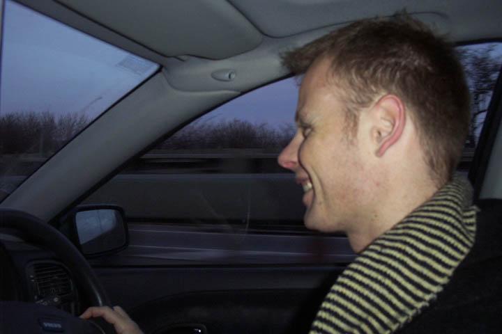 Jason Pitt, Chauffer