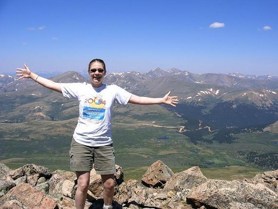 Vicky at Summit!