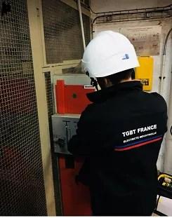Maintenance poste transformation HTA Yonne (89) à Auxerre