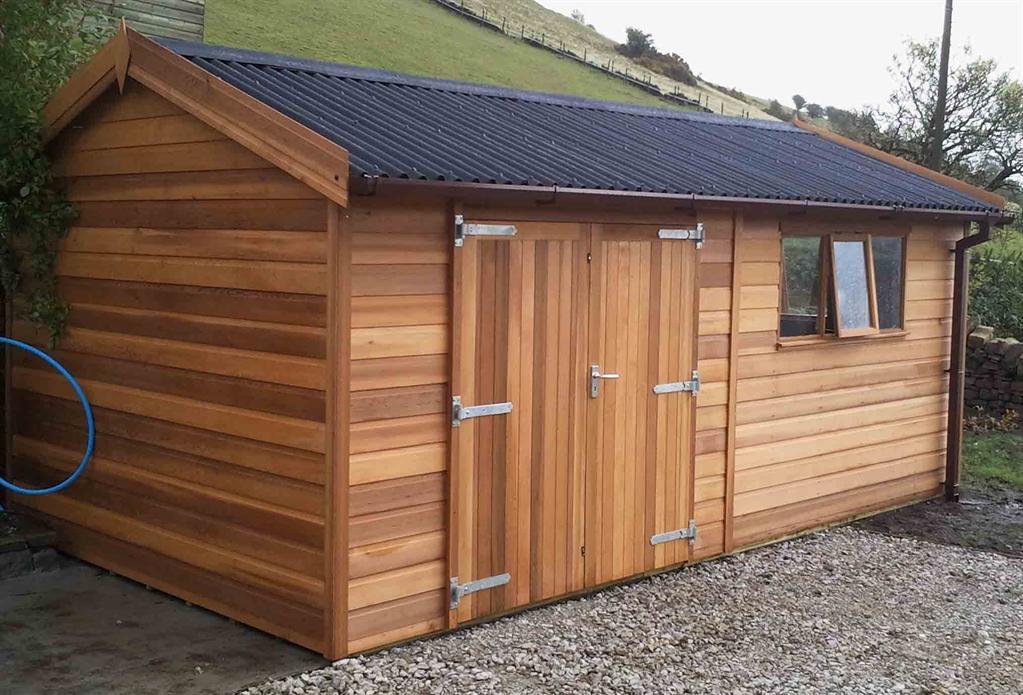 Timber Workshops  Wooden Workshops  Tunstall Garden