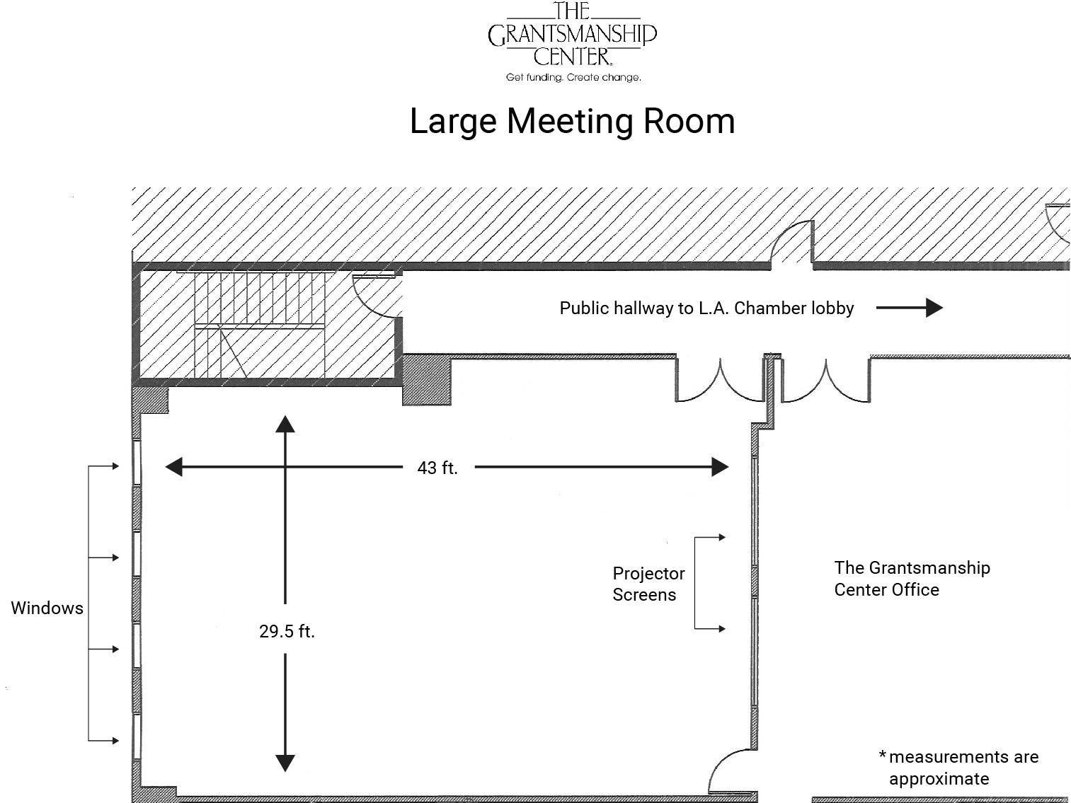 hight resolution of large meeting room capacity 60