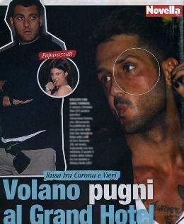 Bobo Vieri,lite,Fabrizio Corona,colpa di Belen