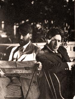 Zborowski e Soutine, 1923