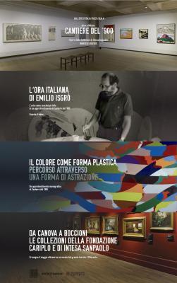 Cantiere del '900, Gallerie d'Italia