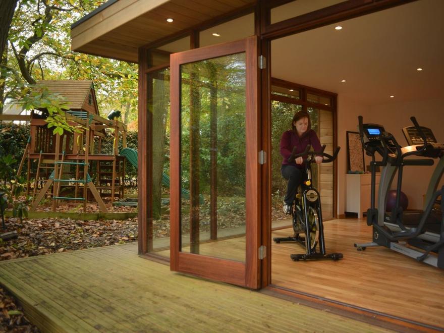 Personal Garden Gym Outdoor Gym Buildings UK Exercise Studios