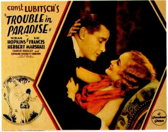 Trouble in Paradise Poster