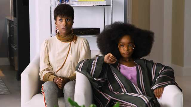 Little - Official Trailer (screen grab) Issa Rae and Marsai Martin CR: Universal Pictures