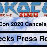 CoKoCon 2020 Cancels Event