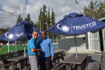 The Davin Trustco Hockey Stadium receives shading and benches