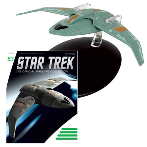 Eaglemoss Star Trek Starship Collection 83 Bajoran Troop Transport Eaglemoss Star Trek Starship Collection #083 Bajoran Troop Transport