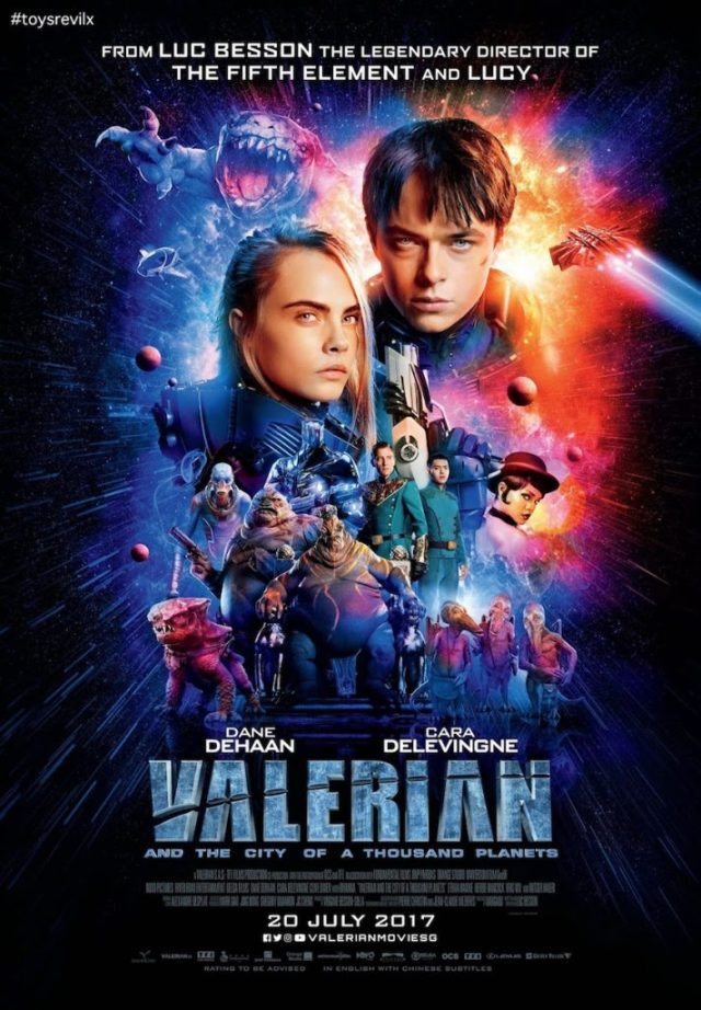 ValerianandtheCityofaThousandPlanetsSGPoster 711x1024 Valerian and the City of a Thousand Planets