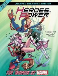 Heroes of Power The Women of Marvel AllNew Marvel Treasury Edition Women of Power review