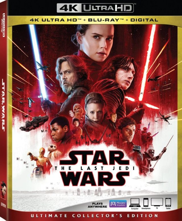 Star Wars Episode VIII The Last Jedi 4k review