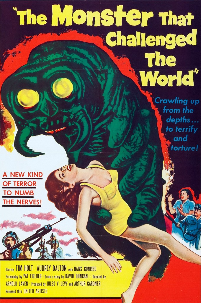 the monster that challenged the world.25696 681x1024 The Monster That Challenged The World