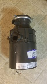 I replaced a garbage disposal!