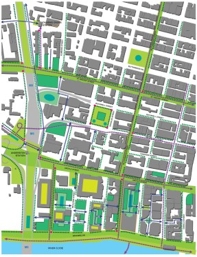 Glasgow West Framework Green Spaces and New Routes