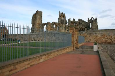 Whitby Abbey Entrance