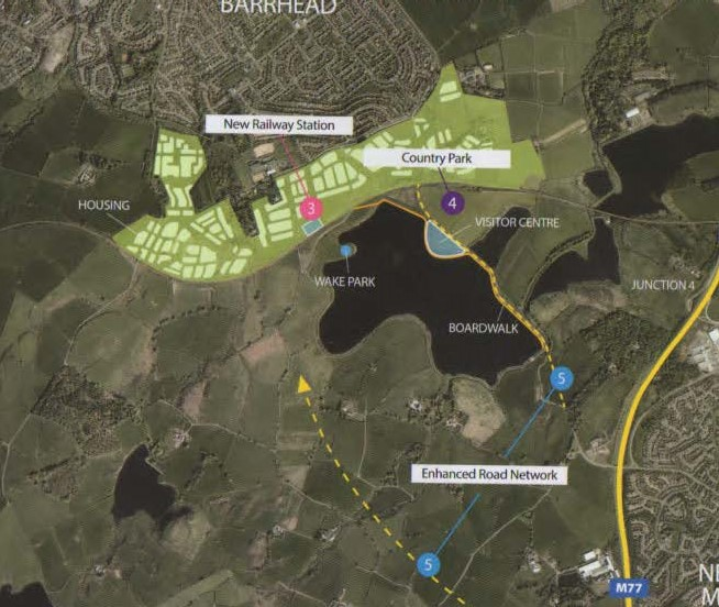 Barrhead cycle route feasibility study