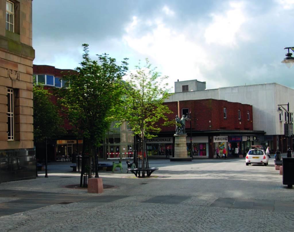 Kilmarnock Town Centre