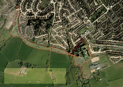 Barrhead Green Link aerial photo base map_cover
