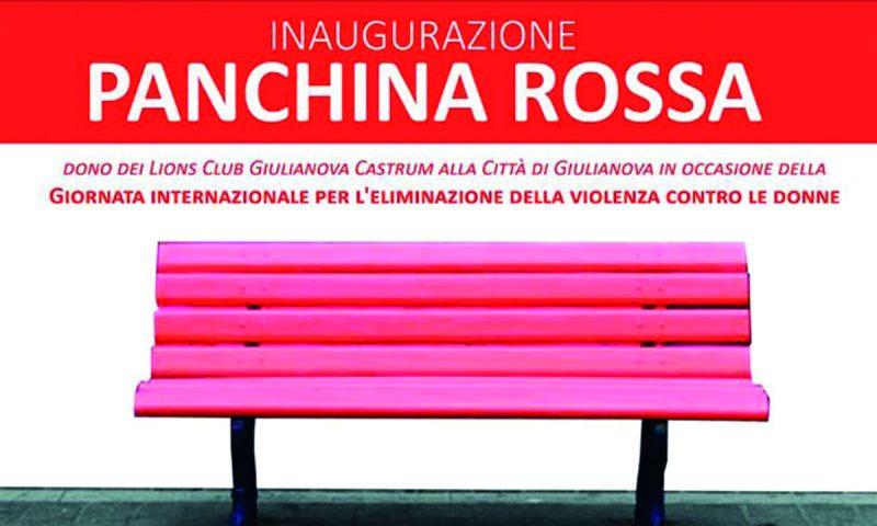panchina rosa