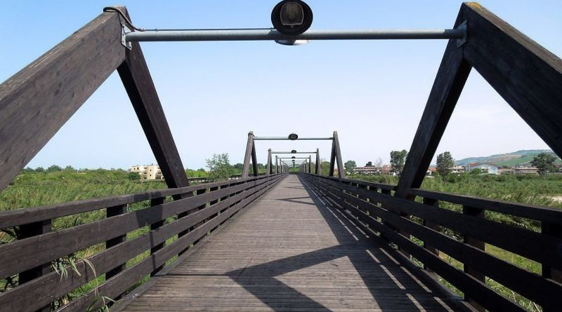 ponte ciclopedonale tordino