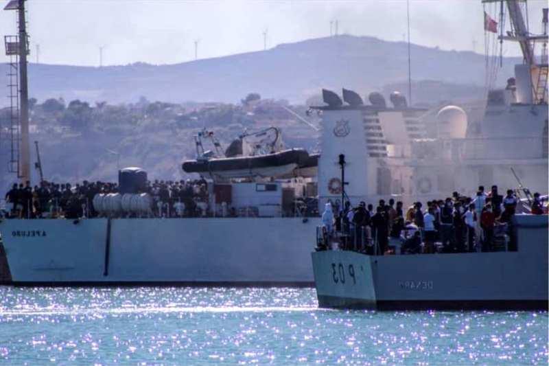Migranti Porto Empedocle