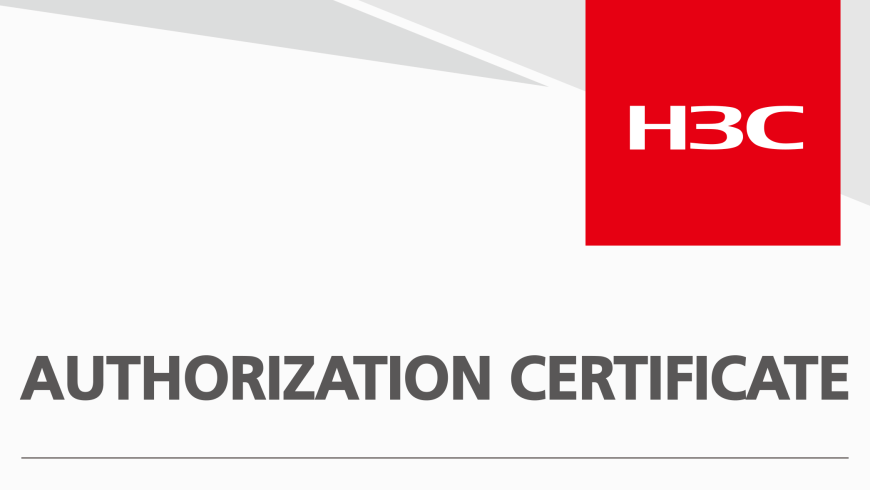 H3C Partner - TGS Enterprise Networks officially Advanced Certified Partner