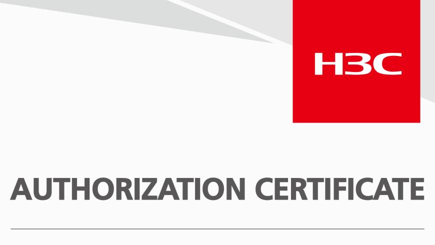H3C Partner - TGS Enterprise Networks officially Advanced Certified Partner