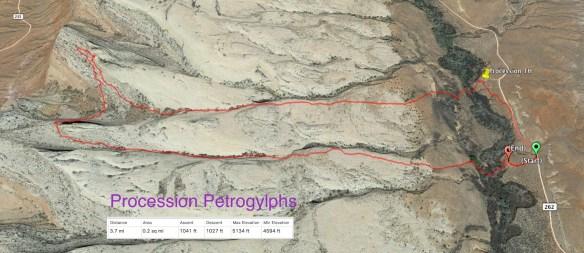 Procession Petrogylphs