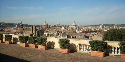 Quattro terrazze di Roma  TgTourism