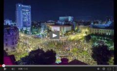 Proteste in Romania. Video